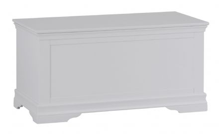 Stratford Grey Painted Blanket Box